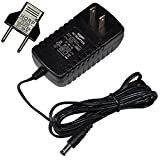 HQRP AC Adapter for NordicTrack AUDIOSTRIDER 800 Elliptical Exerciser 831.236670 831.236671 831.236672 831.236673 NTEL77060 NTEL77061 NTEL77062 Power Supply Cord + Euro Plug Adapter