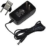 HQRP AC Adapter for NordicTrack AUDIOSTRIDER 800 Elliptical Exerciser 831.236670 831.236671 831.236672 831.236673 NTEL77060 NTEL77061 NTEL77062 Power Supply Cord + Euro Plug Adapter