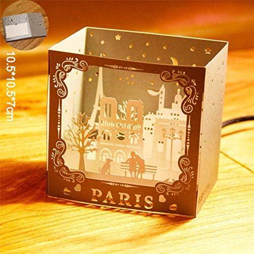Tivollyff 3D Parisは、母の日お誕生日おめでとう記念カード、手作り卒業カードのグリーティングカードをポップアップします。