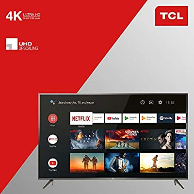 TCL 55EP640 Televisor 139 cm (55 Pulgadas) Smart TV (4K UHD, HDR10, Micro Dimming Pro, Android TV, Alexa, Google Assistant)