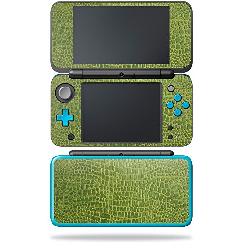 MightySkins Skin for Nintendo New 2DS XL - Croc Skin | Protective, Durable, and Unique Vinyl Decal wrap Cover | Easy to Apply, Remove, and Change Styles | Made in The USA