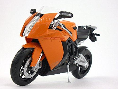 KTM 1190 RC8 (Orange) 1/10 Scale Diecast Metal Motorcycle (Ktm Models)