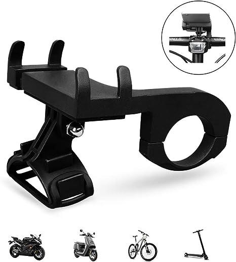 Soporte Movil Bicicleta,La luz Nocturna puede ser Instalada Universal Soporte Movil Bici Moto para iPhone Galaxy y 4.5