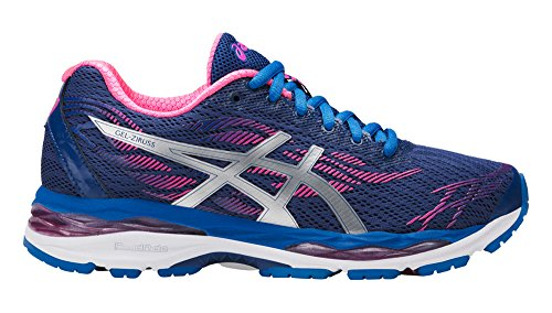 ASICS GelZiruss Shoe Women's Running 10 Limoges-Silver-Hot Pink by ASICS