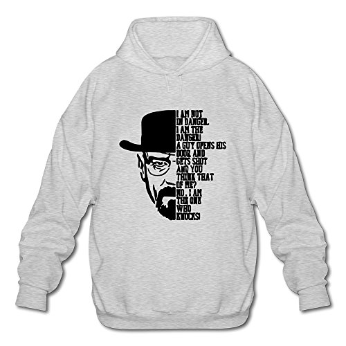 [Seico Mens Breaking Bad Sweatshirt Hoodie Ash Size XXL] (Breaking Bad Jesse Costumes)