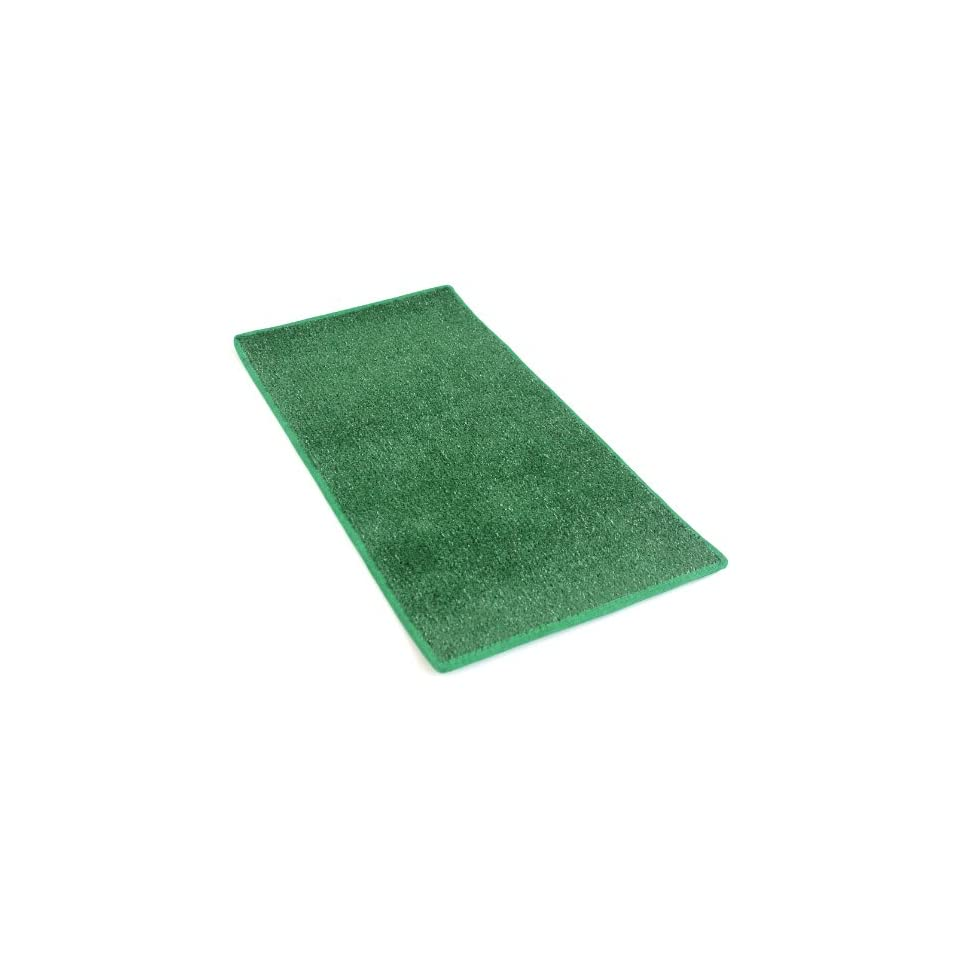 6x8   GREEN HEAVY TURF   5/16 Thick   15.5 oz. Artificial Grass Carpet Indoor / Outdoor Area Rug. Premium Nylon Fabric FINISHED EDGES .UV Protected   weather and Fade resistant ,100% UV olefin. MANY SIZES and Shapes. Rectangles, Squares, Circles, Half