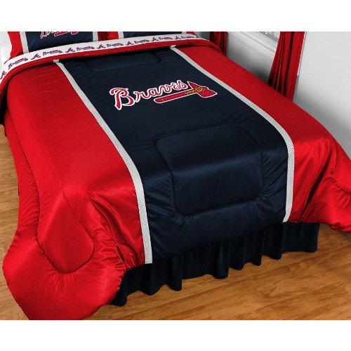 Bundle-98 MLB Sidelines Comforter Team: Texas Rangers, Size: Queen (Comforter Sidelines Texas)