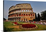 Great BIG Canvas Gallery-Wrapped Canvas entitled Colosseo Colosseum in Rome, Italy