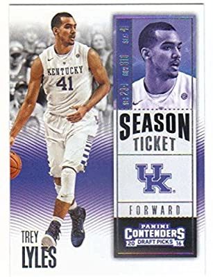2016-17 Panini Contenders Draft Picks Season Ticket #94 Trey Lyles Kentucky Wildcats Collegiate Basketball Card