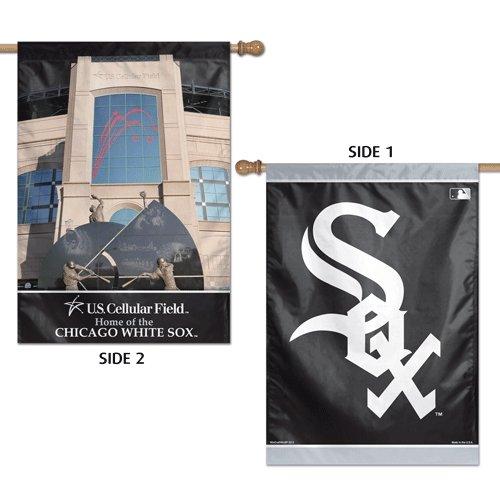 MLB 2 SIDED垂直フラグ Chicago White Sox Chicago White Sox B00CDAQKBS