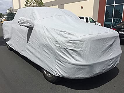 CarsCover Custom Fit 1998-2018 Dodge Ram 1500 Crew Cab Quad Cab 5.5ft Bed Box Short Bed Truck Car Cover Heavy Duty All Weatherproof Ultrashield 709870730610