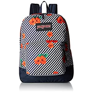 JanSport Black Label Superbreak Backpack (Linear Hibiscus)
