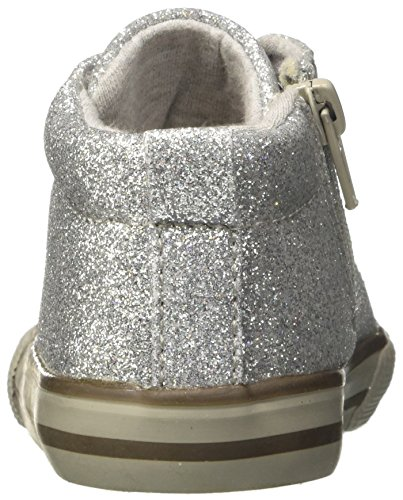 Chicco Mädchen Caramella Desert Boots Silber / Schwarz