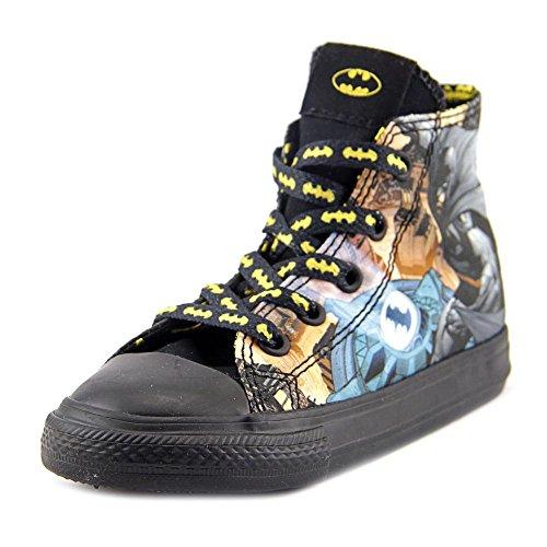 Converse Chuck Taylor All Star Hi Batman Sneaker, (Batman Toddler Shoes)