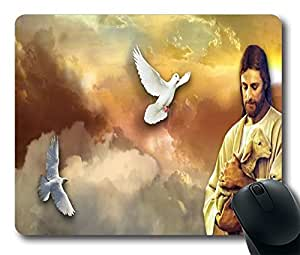 "fantastic jesus Personalized Custom Mouse Pad Oblong Shaped in 220mm*180mm*3mm (9""*7"") Gaming Mouse Pad/Mat 0128073"