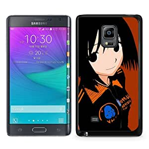 Newest Samsung Galaxy Note Edge Case ,Nhk Ni Youkoso Nakahara Misaki Girl Brunette Smile Black Samsung Galaxy Note Edge Screen Phone Case Popular Fashion And Durable Designed