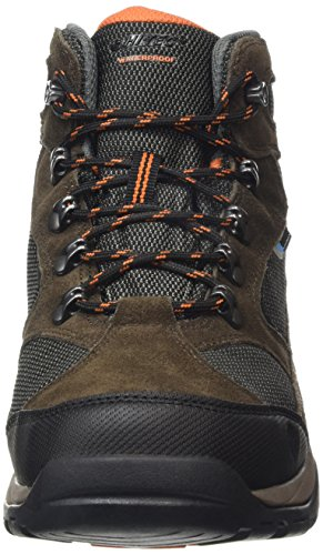 Senderismo Dark Marrón Hombre Burnt Hi Orange Dt Tec Storm de Chocolate Botas Taupe Waterproof X8BHgqwT