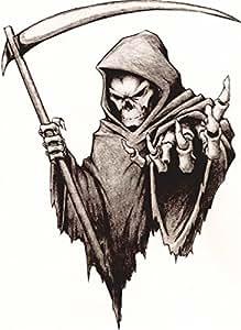 Amazon Com Vinyl Sticker Decal Large 180mm Grim Reaper