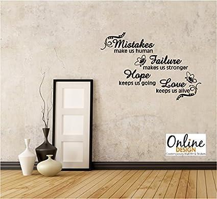 Online Design Frase Pared Vinilo Mural Decoracion Adhesiva Esperanza