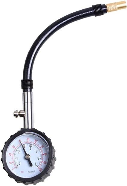 SUGERYY 0-100PSI - Medidor de presión de aire de neumáticos para ...