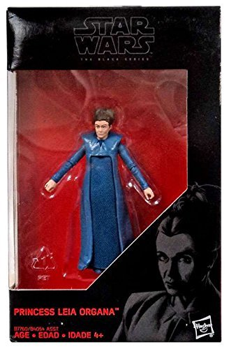 Star Wars, 2016 The Black Series, Princess Leia Organa (The Force Awakens) Exclusive Action Figure, 3.75 Inches (Star Wars Black Series 6 Inch 2016)