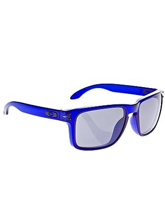 cbc36edca2f Amazon.com  Oakley Holbrook Sunglasses Crystal Blue Grey Size One ...