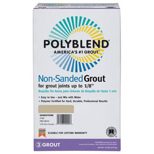 Custom BLDG Products PBG38110 10-Pound Grout 10 Lb Non Sanded Grout