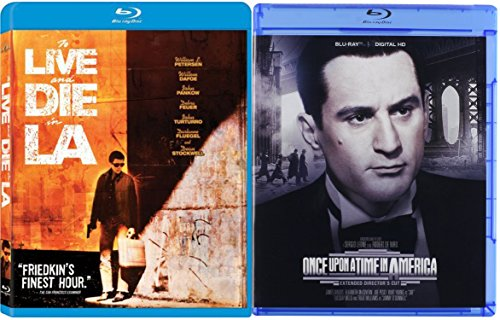 Once Upon A Time In America & To Live and Die in L.A. [Blu-ray] 2 Pack Crime Movie Set