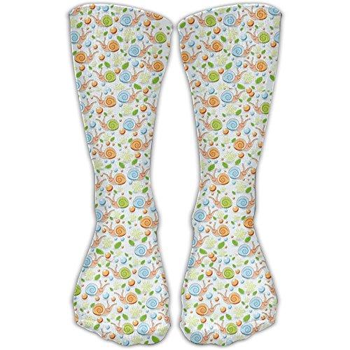 Snails Pattern Women & Men Socks Soccer Sport Tube Stockings Length 30cm