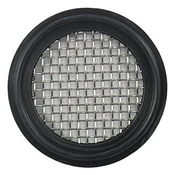 1.5 FKM Sanitary Tri-Clamp Gasket Black