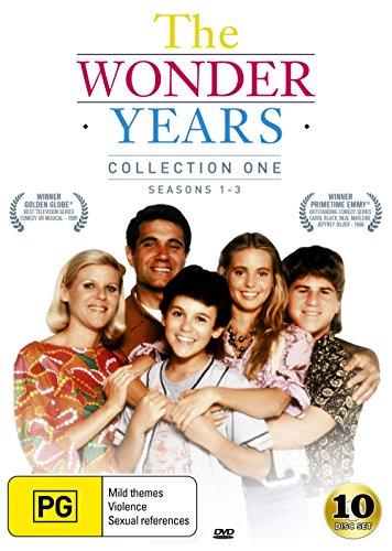 The Wonder Years:Collection 1 | Season 1, 2 & 3 | 10 Discs | Fred Savage | NON-USA Format | PAL Region 4 Import - Australia (Wonder Years Dvd Season 4)