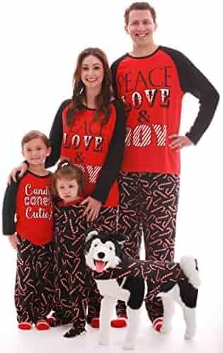 #followme Matching Christmas Pajamas Family, Couples, Dog
