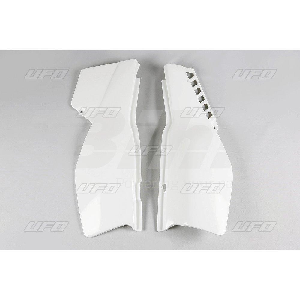 UFO - 47546 : Paneles Laterales Traseros Yamaha Xt600 (1987-1990) Me08062-W Color Blanco