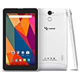Yuntab E706 7 Inch Quad Core 1.3Ghz Google Android 6.0,Unlocked Smartphone Phablet Tablet PC,1G+8G,HD 600x1024,Dual Camera,IPS,WiFi,G-Sensor,Support SIM/MMC/TF Card(White)