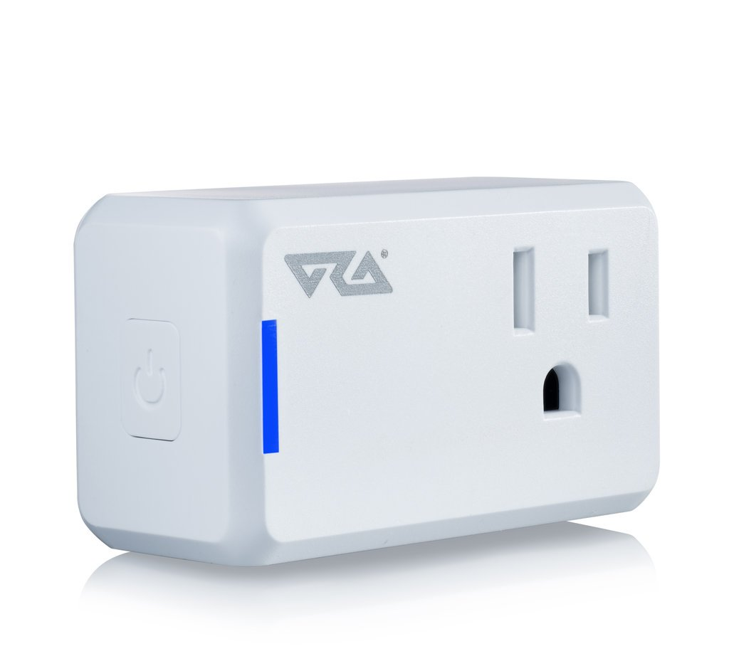 Ora Alexa-Enabled Wi-Fi Mini Smart Plug, White (Pack of 2) by ORA (Image #3)
