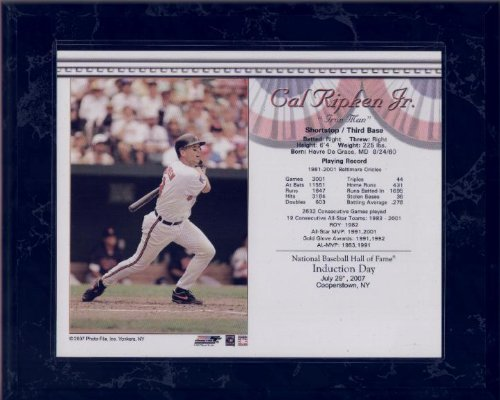 Fame Induction Card - Cal Ripken, Jr. 8