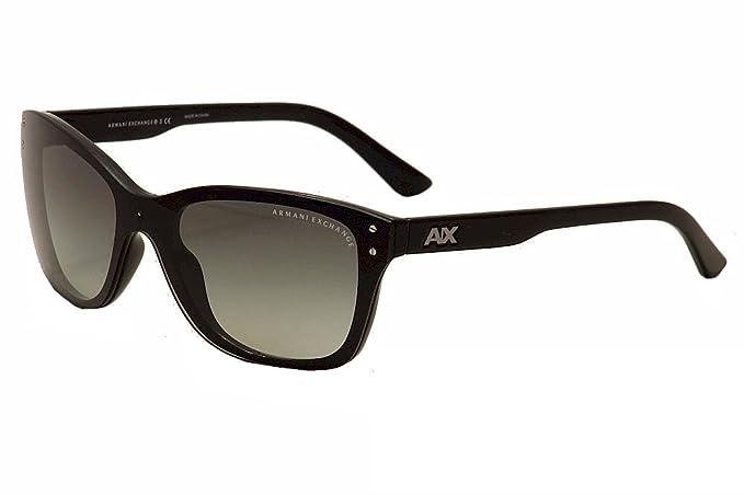 Armani Exchange Gafas de sol AX 4027s 800411 Negro 43 - 143 ...
