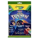 : Crayola Mini Rainbow Color Explosion Pad