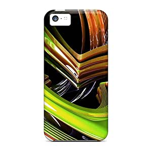 [EWCHF195wPpag] - New 3d Abstract Protective Iphone 5c Classic Hardshell Case