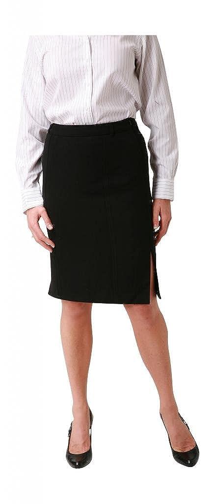Woolmaster Womens Stretch Wool Pencil Skirt