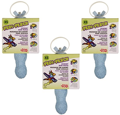 (3 Pack) Living World Pedi-Perch, Mini by Living World