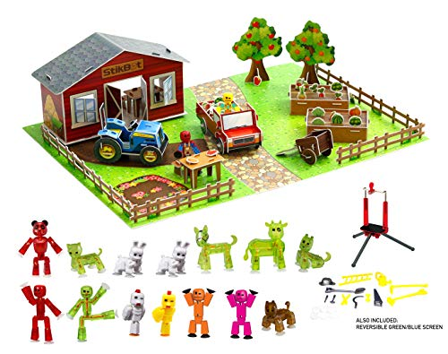 (Zing Stikbot Movie Set Deluxe - Farm Action)