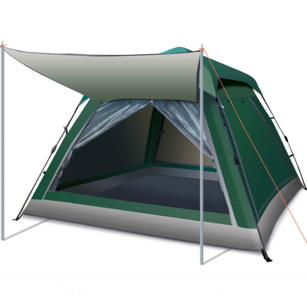 Keoa Zelt 2 Sekunden Geschwindigkeit Offen Für 3-5 Personen Große Kapazität Leichte Wasserdichte UV-Schutz Geeignet Für Outdoor-Camping Strandsportarten,D
