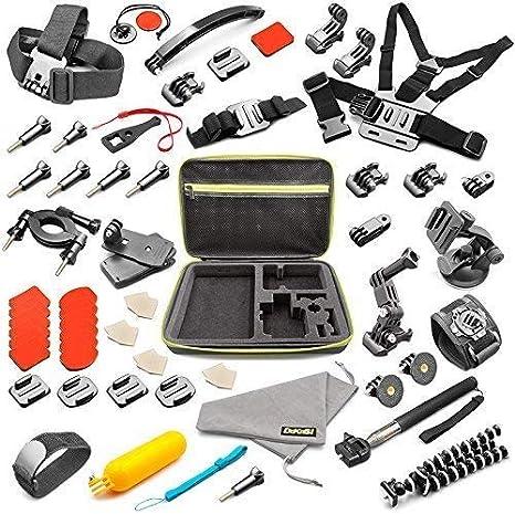 GoPro-Accessories-Case-kit-HERO7 3 2 1 Hero Session 5 Black Accessory Bundle Set for Yi AKASO Apeman DeKaSi Action Camera Accessories Kit for GoPro Hero 7 6 5 4 3