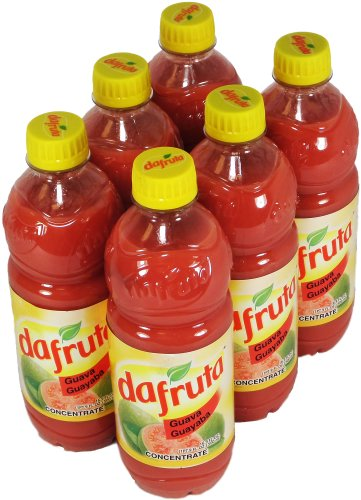 Dafruta Guava Liquid Concentrate  16 9 Fl Oz 500Ml  6 Pack
