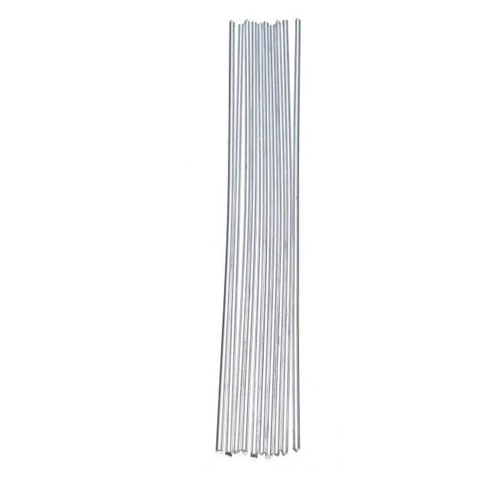 SUCAN 10 Unids Baja Temperatura Alumaloy Aluminio Reparaci/ón Varillas 3.2mmx230mm Accesorios De La M/áquina De Soldadura Soldadura Varillas Para Temperatura Varilla De Aluminio Soldada Hueca S/ólida