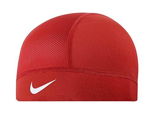 Nike Pro Combat Hypercool Skull Cap - University Red