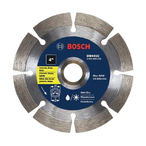 Bosch DB441C Premium Segmented Diamond Circular Saw Blade, (4 In Corded Circular Saw)