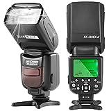 K&F Concept Speedlite Flash, KF590N Professional I-TTL Flash with Auto-Focus Wireless Slave Function for Nikon DSLR Camera
