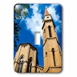 3dRose Danita Delimont - Tuscany - Bell tower, Cathedral of San Donato, Arezzo, Tuscany, Italy. - Light Switch Covers - single toggle switch (lsp_249327_1)